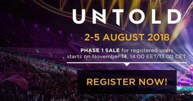Untold 2018: 2-5 august. ATENTIE! Biletele sunt puse în vânzare! Vezi de cand!