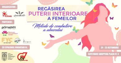 """Asociația Be Active Satu Mare și Passion4Salsa vă invită la evenimentul: """"Combaterea abuzului și conștientizarea puterii interioare a femeilor"""""""