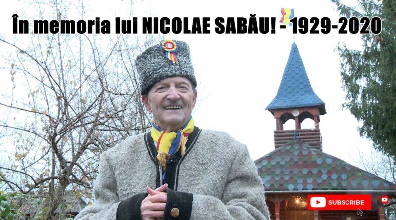 A murit artistul Nicolae Sabau! Legenda Maramuresului! VIDEO