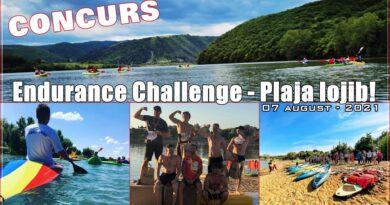 "Satu Mare: Concurs | ,,Endurance Challenge"" la Plaja Iojib, 07 august – 2021! Participarea gratuita!"